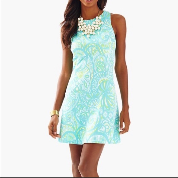 Lilly Pulitzer Dresses & Skirts - Lilly Pulitzer Kent Drop Waist Mini Dress